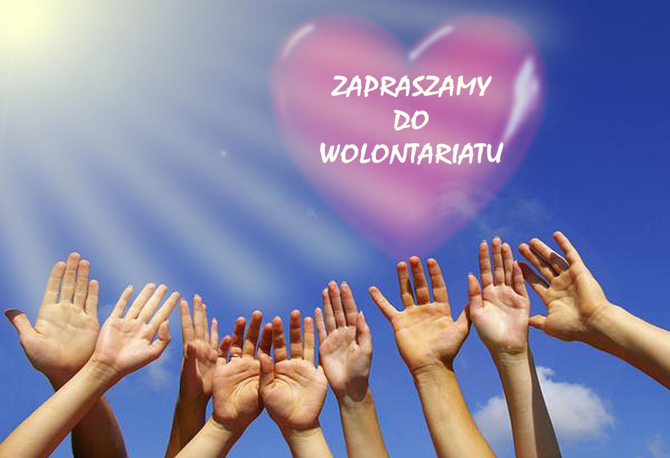 wolontariat zaproszenie
